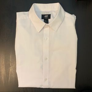 H&M Easy Iron Dress Shirt Slim Fit